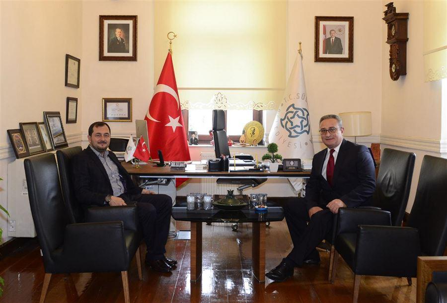 Süleymanpaşa Belediye Başkanını Ziyaret