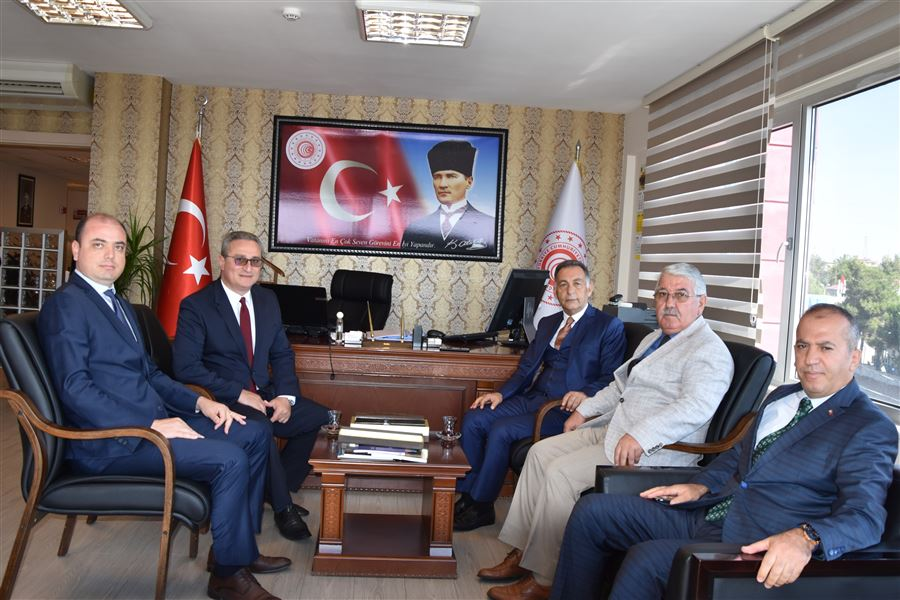 Tekirdağ Vali Yardımcısı Sn.Ali DURSUN'un Bölge Müdürlüğümüze ziyareti