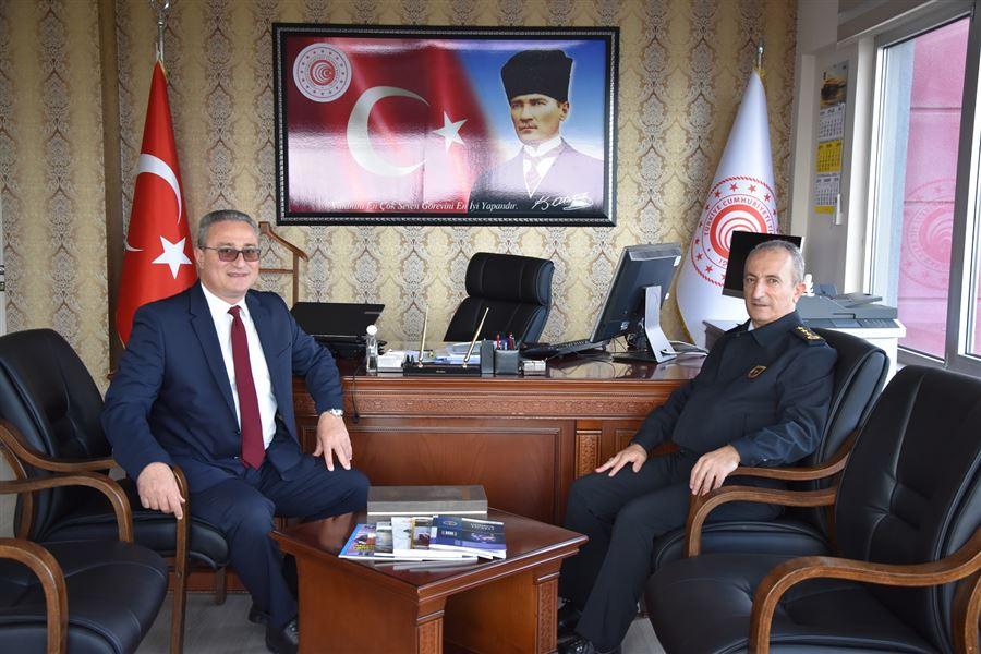 Tekirdağ İl Jandarma Komutanı Albay Sn.Osman KILIÇ'ın Bölge Müdürlüğümüze ziyareti
