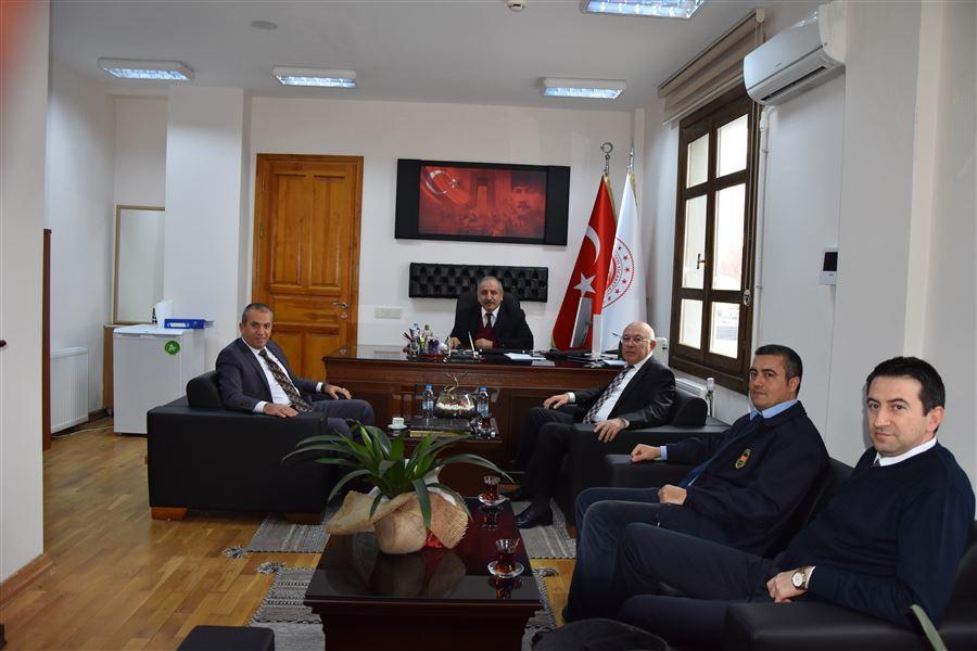 Bölge Müdür Yardımcılarımız Sn.Şenol SOYLU ve Sn.Osman TAŞDEMİR'in Çanakkale Gümrük Müdürlüğü Ziyareti